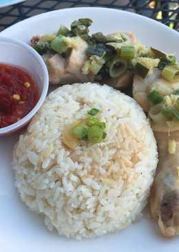 大同電鍋-海南雞飯(白雞飯)