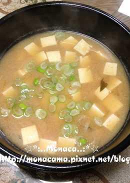 日式味噌湯(味噌汁みそしる)