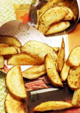 不油炸也能烤出美味 - 烤薯條 Oven Baked French Fries