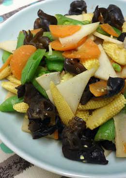 蠔油鮮彩蔬 ♥燴燒竹筍 4