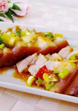 滷切三層肉∼電鍋料理
