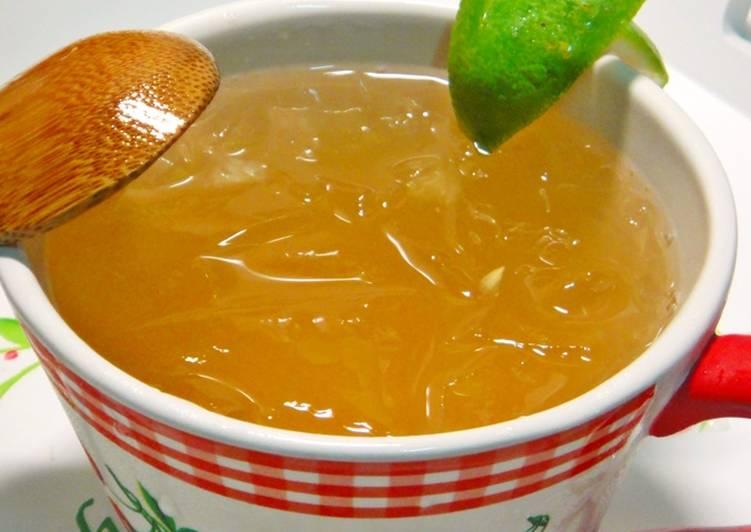手作蜂蜜檸檬愛玉