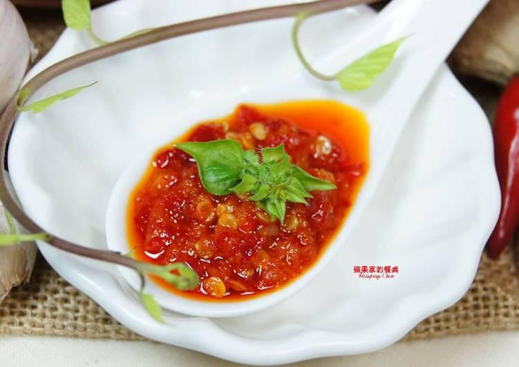 蒜蓉辣椒醬