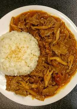 日式牛肉燴飯