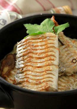 酒香麻油白帶魚麵線