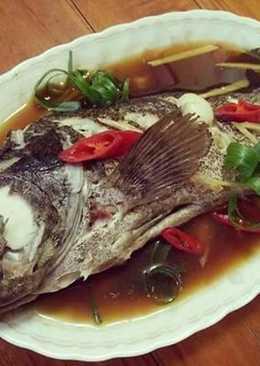 清蒸石斑魚【澎湖水產】