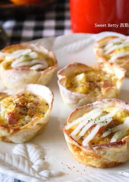 簡易香料火腿蛋鹹派