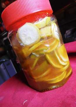 蜂蜜檸檬片