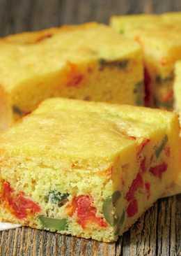 東販小食堂:番茄橄欖玉米磚蛋糕