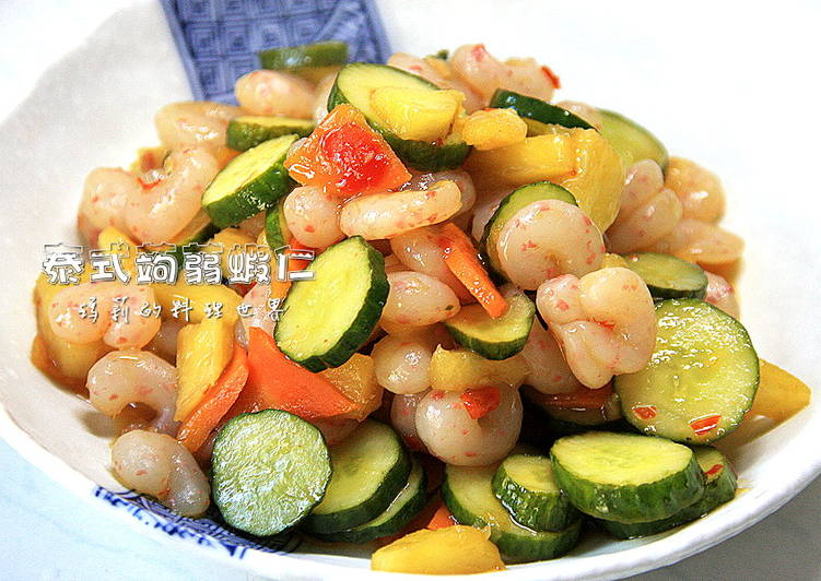 瑪莉廚房:泰式蒟蒻蝦仁