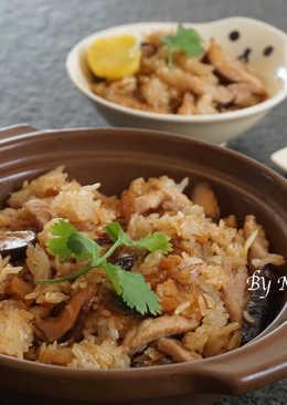 【簡易】香菇油飯