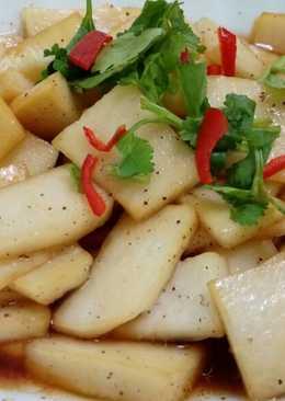 涼拌大頭菜(素食)