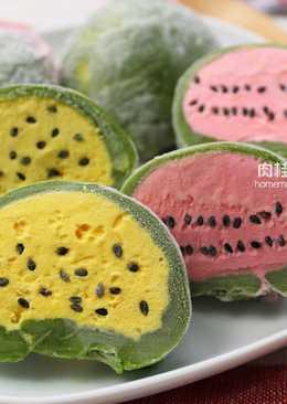 西瓜造型冰淇淋麻糬