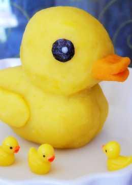 【地瓜泥黃色小鴨】