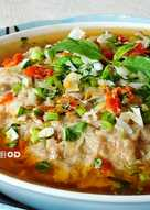 鹹魚蒸肉餅