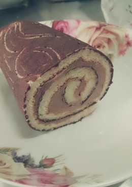巧克力木紋蛋糕捲
