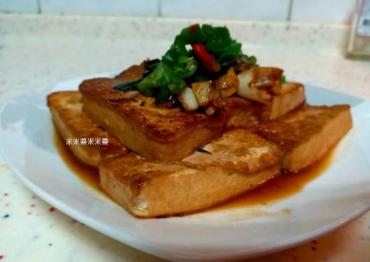 紅燒豆腐(煎得美美)