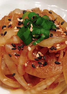 日式柴魚涼拌洋蔥~附上洋蔥不嗆辣小撇步!