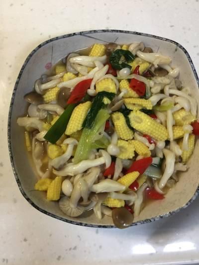 菇菇玉米筍