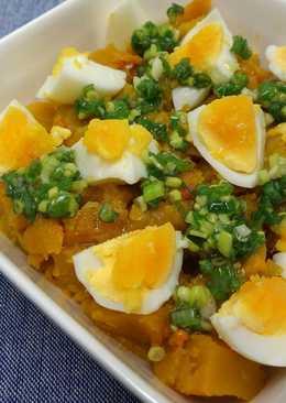鹹蔥南瓜沙拉 ♥ 橄欖油鹹蔥醬 5