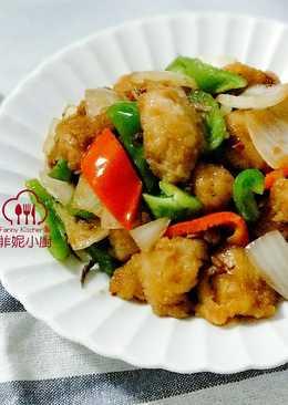 Xo辣醬炒雞