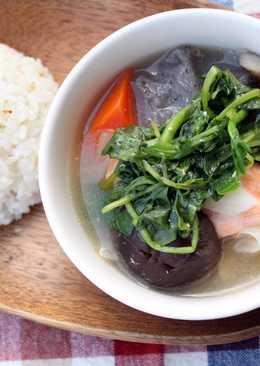 鮭魚味增煮
