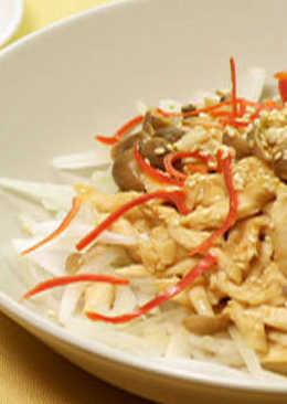 味增雞柳鴻喜菇