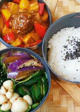 〘素食便當〙紅燒豆腐