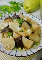 醬拌杏鮑菇(電鍋版)