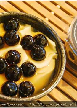 黑q波霸豆花.柯媽媽の植物燕窩