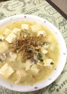 鯛魚豆腐味噌湯