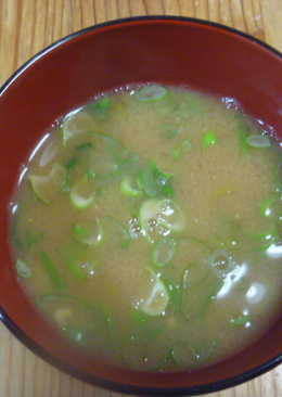 納豆味噌湯