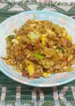 大黃瓜培根炒飯