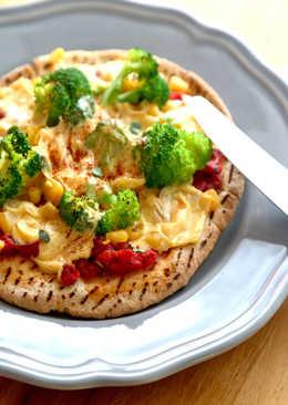 番茄玉米起司披薩