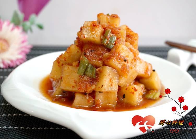 韓式蘿蔔泡菜