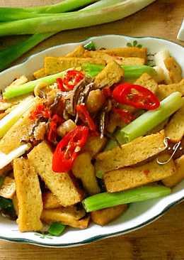 Xo干貝醬炒豆乾
