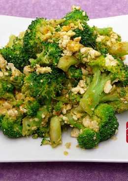 鹹蛋炒青花椰 ☆ 鹹蛋&蔬菜5