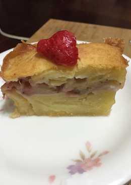 草莓蘋果蛋糕(派)