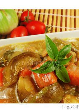 雲水茄之綠咖哩