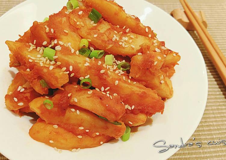韓式風味馬鈴薯