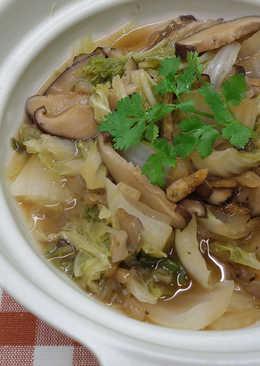 紅蔥香菇滷白菜 ★砂鍋白菜 6