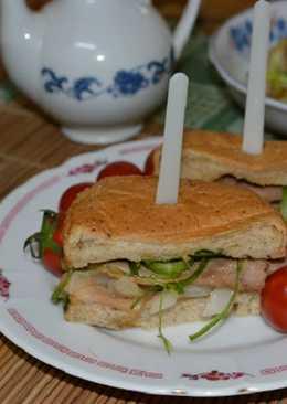 【源釀醬油】薑汁燒肉三明治