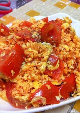 【靜靜小廚】蕃茄炒蛋
