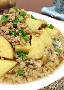 【御釀滷煮入味】馬鈴薯肉末煮