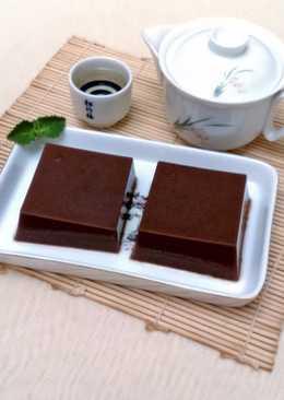 黑金磚巧克力果凍