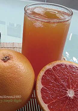 簡單自製~~『葡萄柚紅茶』~富含維他命c
