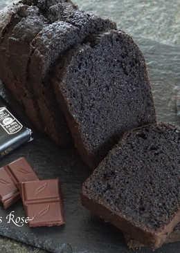 橙酒巧克力磅蛋糕