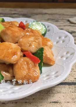小黃瓜炒嫩雞丁