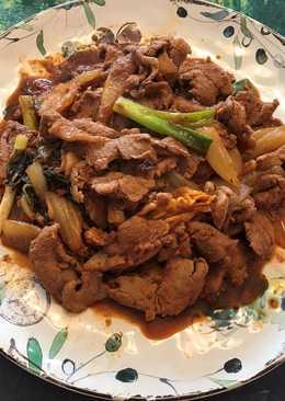 韓式泡菜炒豬肉- Pork Bulgogi
