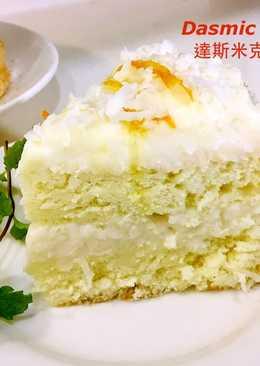 香椰夾心蛋糕 (6吋 分離模)~附『實作影片』~